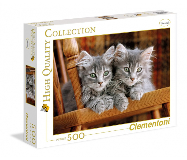 Clementoni Puzzle HQ  Kittens - 417084 - zdjęcie