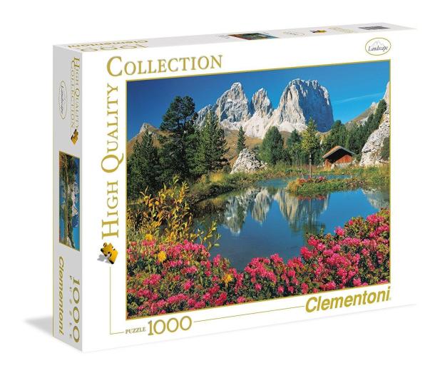 Clementoni Puzzle HQ Passo Pordoi - 417092 - zdjęcie