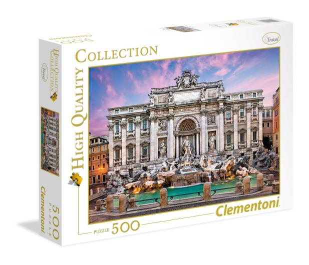 Clementoni Puzzle HQ Trevi Fountain - 417076 - zdjęcie