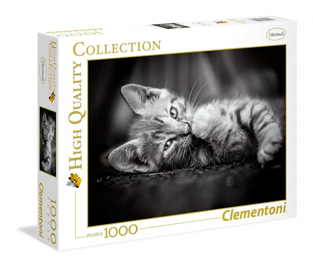 Clementoni Puzzle HQ Kitty - 417096 - zdjęcie 1