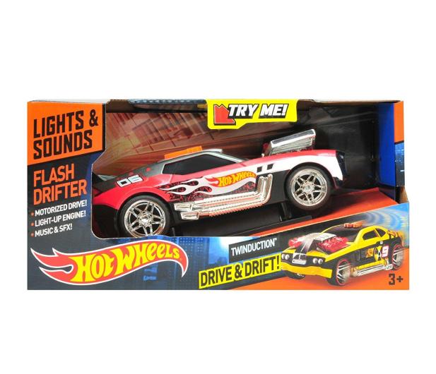 Dumel Toy State Hot Wheels Flash Drifter Twinduction - 416839 - zdjęcie 2