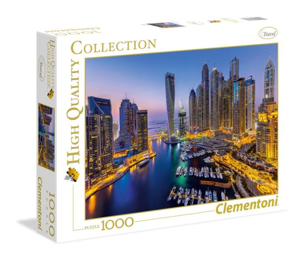Clementoni Puzzle HQ  Dubai - 417105 - zdjęcie