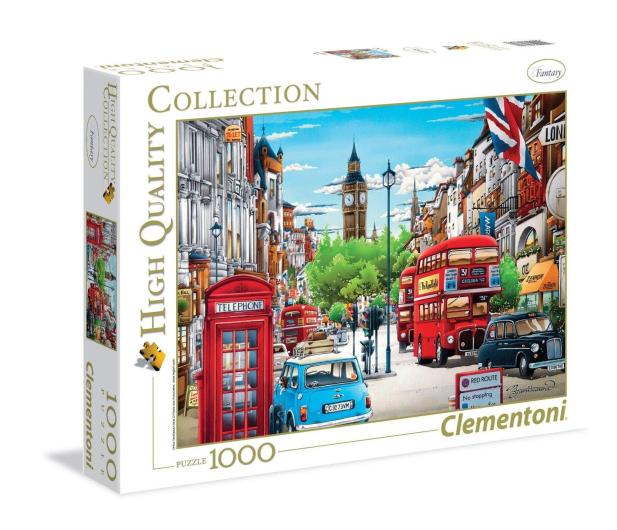 Clementoni Puzzle HQ  London - 417222 - zdjęcie
