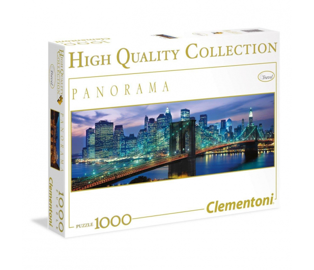 Clementoni Puzzle Panorama HQ  New York Brooklyn bridge - 417233 - zdjęcie 1