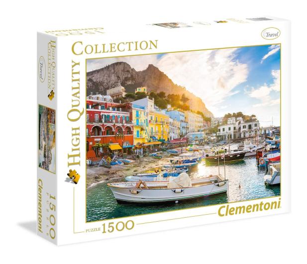 Clementoni Puzzle HQ  Capri - 417242 - zdjęcie