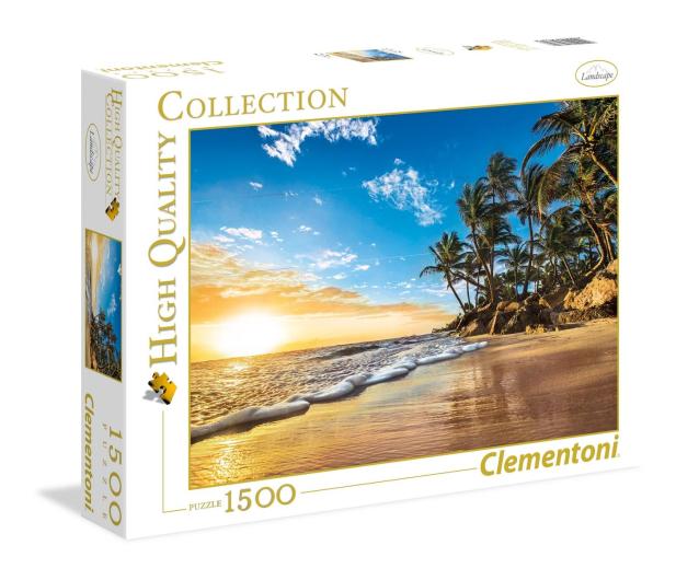Clementoni Puzzle HQ  Tropical sunrise - 417244 - zdjęcie