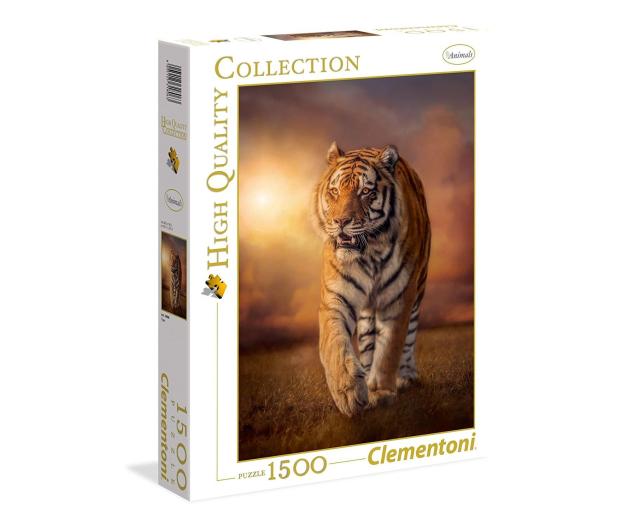 Clementoni Puzzle HQ  Tiger  - 417247 - zdjęcie
