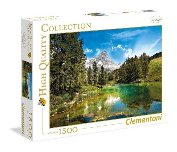 Clementoni Puzzle HQ  Blue Lake - 417239 - zdjęcie