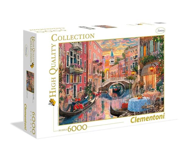 Clementoni Puzzle HQ  Venice Evening Sunset - 417267 - zdjęcie
