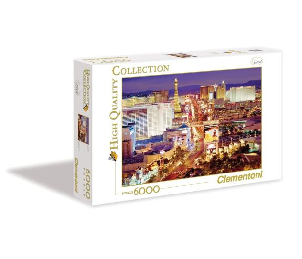 Clementoni Puzzle HQ  Las Vegas - 417268 - zdjęcie 3