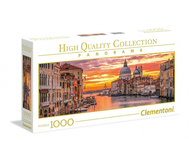 Clementoni Puzzle Panorama HQ  The Grand Canal - Venice - 417226 - zdjęcie