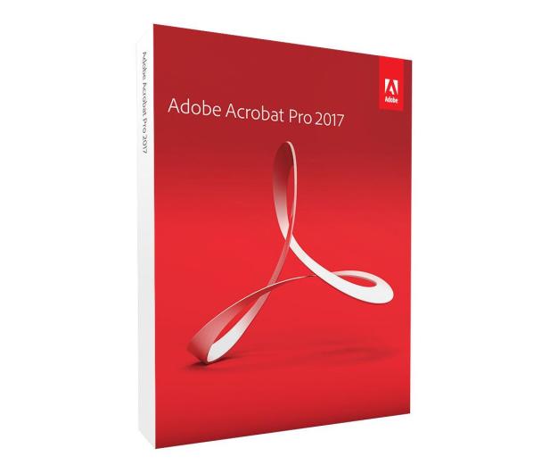 Adobe Acrobat 2017 Pro WIN [PL]  - 413774 - zdjęcie