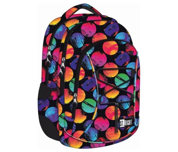 Majewski ST.Right Plecak szkolny Colourful Dots BP-32 - 412550 - zdjęcie