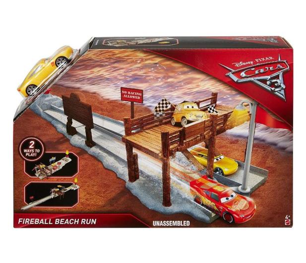 Mattel Disney Cars 3 Zestaw Fireball Beach - 414621 - zdjęcie
