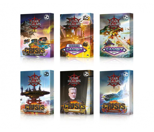Games Factory Star Realms: Pakiet Gambit i Crisis - 423908 - zdjęcie 8