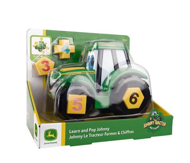 TOMY John Deere Ucz Się i Baw z Traktorem Johnny - 420286 - zdjęcie 2