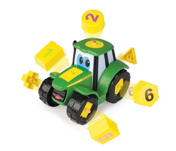 TOMY John Deere Ucz Się i Baw z Traktorem Johnny - 420286 - zdjęcie