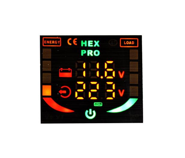 VOLT Przetwornica mikroprocesorowa 800VA / 400W 12V - 416517 - zdjęcie 4