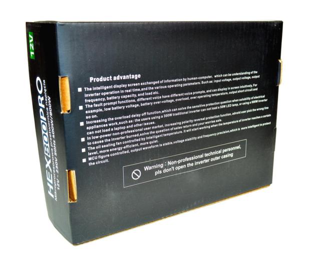VOLT Przetwornica mikroprocesorowa 800VA / 400W 12V - 416517 - zdjęcie 6