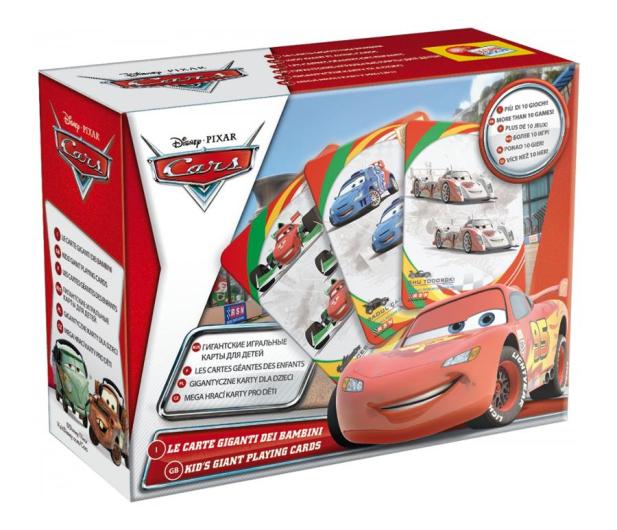 Lisciani Giochi Disney Karty do gry CARS 2 - 417766 - zdjęcie 2