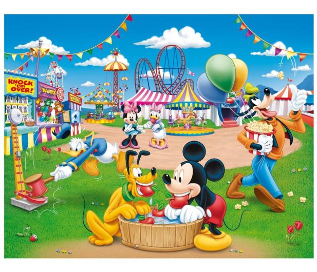 Lisciani Giochi Disney dwustronne Maxi 108 el. Myszka Mickey v2 - 417774 - zdjęcie 2
