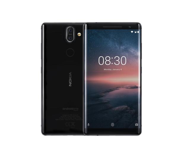 Nokia 8 Sirocco czarny - 424970 - zdjęcie