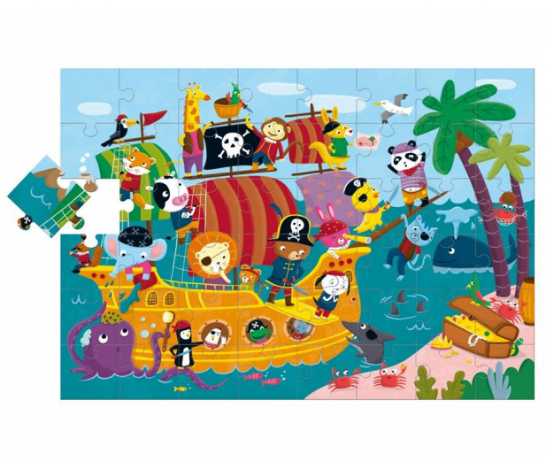 Lisciani Giochi Ludattica Giant Statek Piratów - 418039 - zdjęcie 2