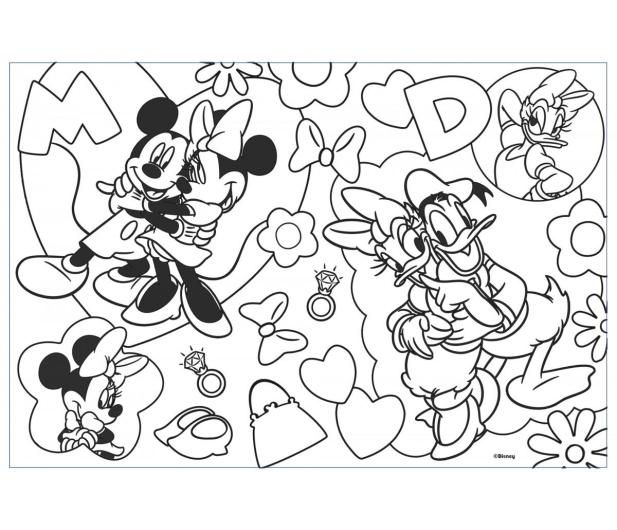 Lisciani Giochi Disney dwustronne 60 el. Minnie - 418074 - zdjęcie 3