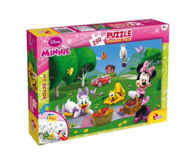 Lisciani Giochi Disney dwustronne 250 el. Minnie - 418087 - zdjęcie
