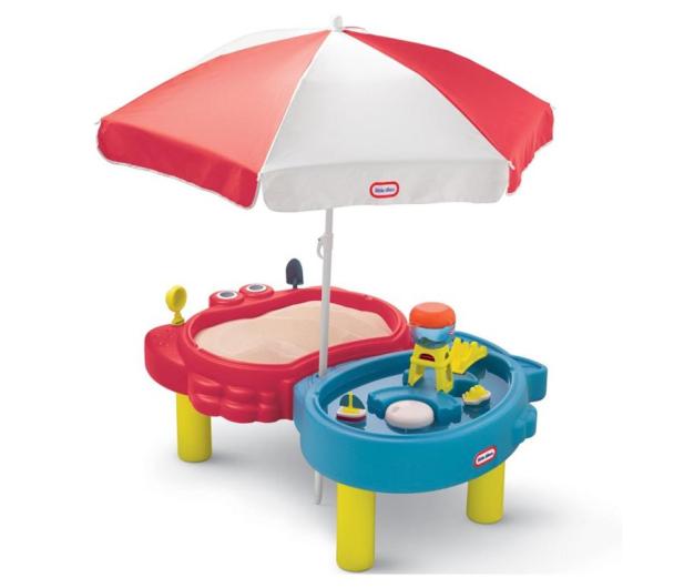 Little Tikes Piaskownica Wodny Stół + parasol - 421978 - zdjęcie