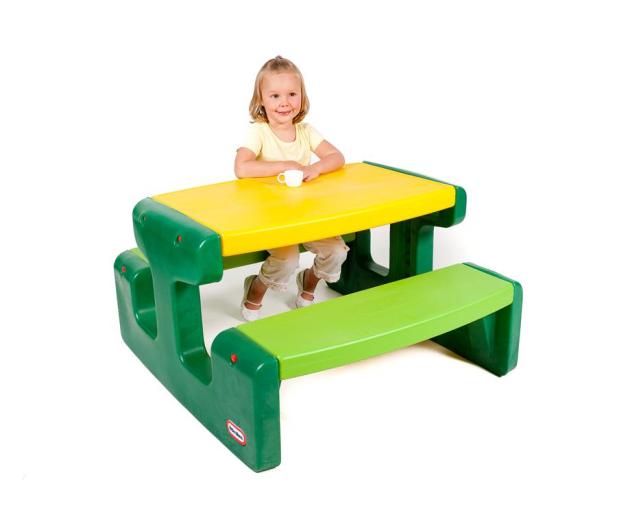 Little Tikes Duży stolik piknikowy zielony - 422003 - zdjęcie