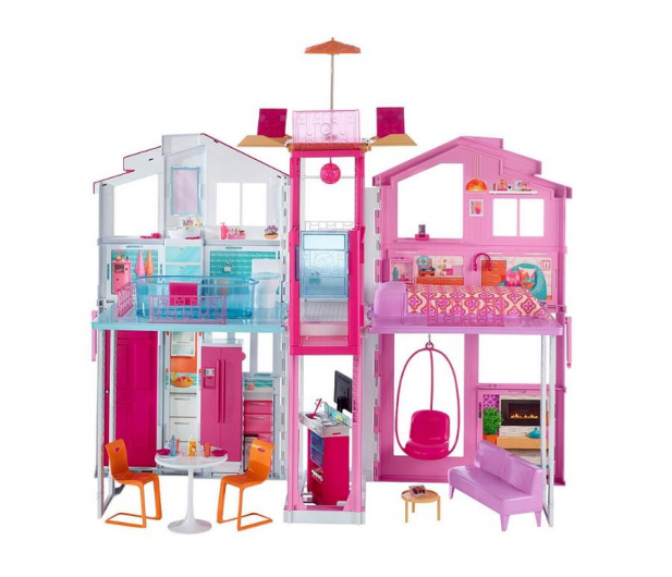 Barbie Miejski domek  - 424888 - zdjęcie 1