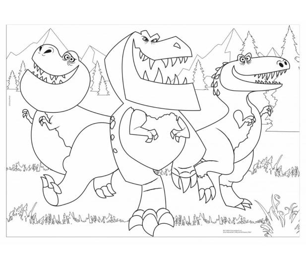 Lisciani Giochi Disney Dwustronne Maxi 35 el. Dobry Dinozaur - 418537 - zdjęcie 3