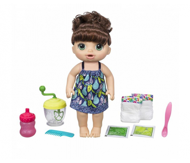 Baby Alive Słodka przekąska brunetka - 423309 - zdjęcie