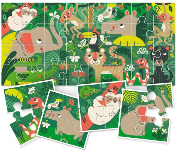 Lisciani Giochi Ludattica 8+1 Baby dżungla - 419316 - zdjęcie 2