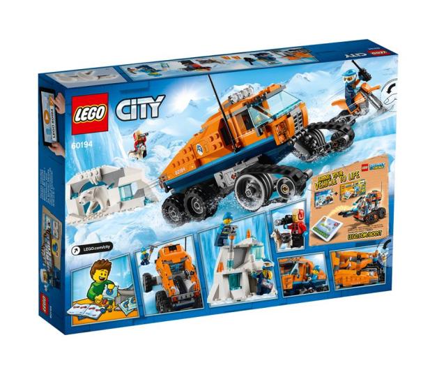 LEGO City Arktyczna terenówka zwiadowcza - 426641 - zdjęcie 2