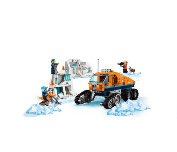 LEGO City Arktyczna terenówka zwiadowcza - 426641 - zdjęcie 3
