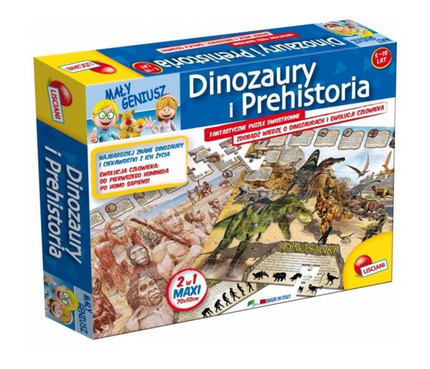 Lisciani Giochi Mały Geniusz Dinozaury 108 el. - 419580 - zdjęcie