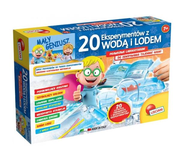 Lisciani Giochi Mały Geniusz 20 eksperymentów - 419609 - zdjęcie 2