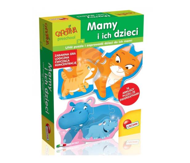 Lisciani Giochi Carotina Mamy i ich dzieci - 419733 - zdjęcie