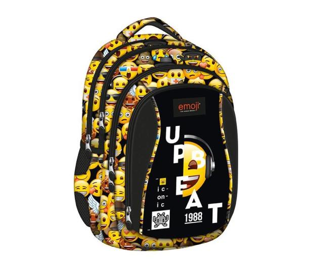 9df4321265763 Majewski ST.Right Plecak szkolny Emoji Yellow BP-04 - 421825 - zdjęcie 1