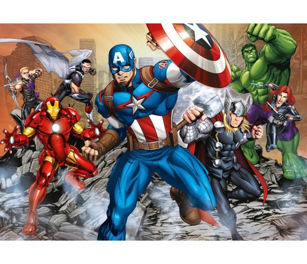 Clementoni Puzzle Disney Maxi Super Kolor The Avengers 104 el. - 417308 - zdjęcie 2