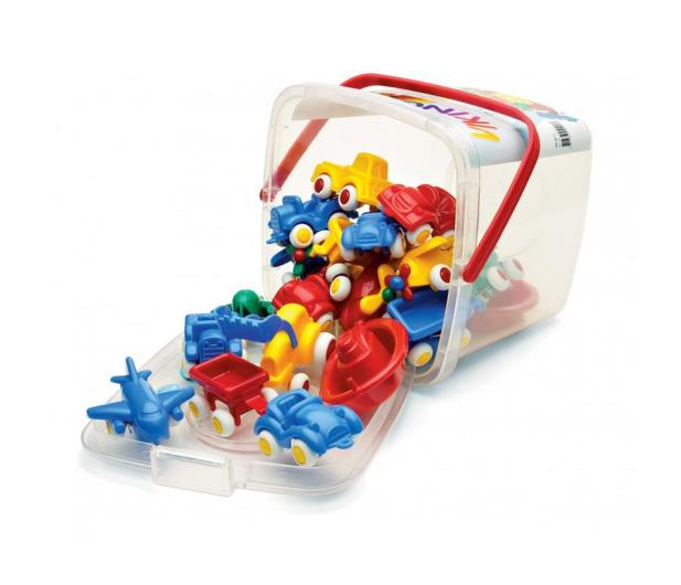 Viking Toys Pojazdy w wiaderku 20 el. MINI Chubbies - 416434 - zdjęcie