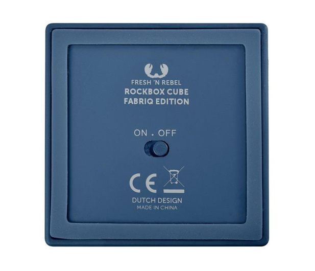 Fresh N Rebel Rockbox Cube Fabriq Edition Indigo - 420974 - zdjęcie 5
