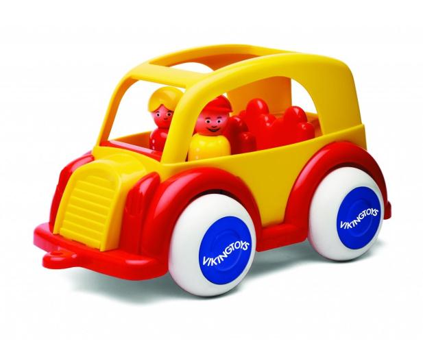 Viking Toys Samochód osobowy z figurkami Jumbo - 416395 - zdjęcie