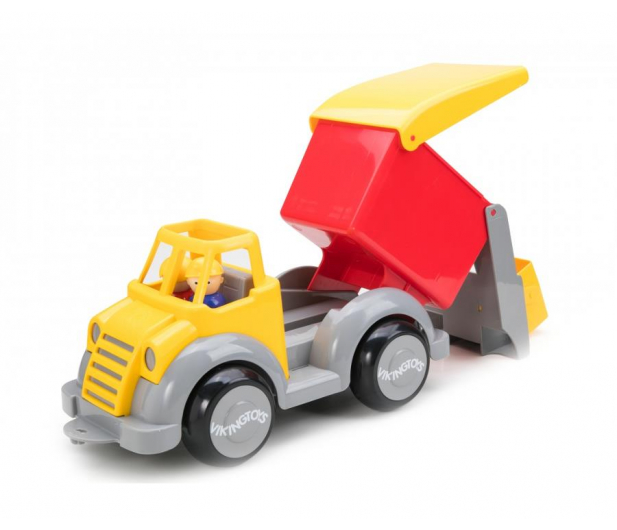 Viking Toys Śmieciarka z figurkami Super Auto Fun Colors - 416489 - zdjęcie