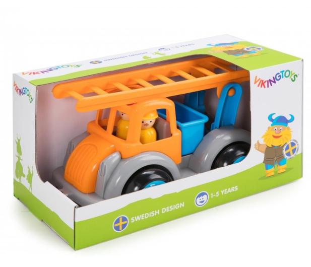 Viking Toys Straż Pożarna z figurkami Jumbo Fun Colors GIFTBOX - 416497 - zdjęcie