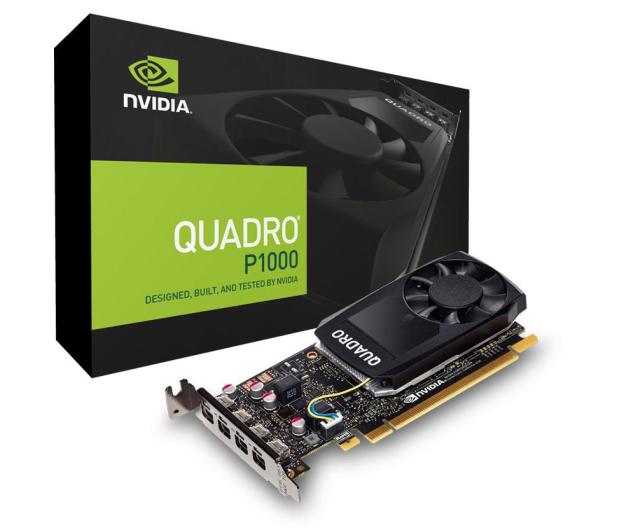 PNY Quadro P1000 DVI 4GB GDDR5 - 421022 - zdjęcie