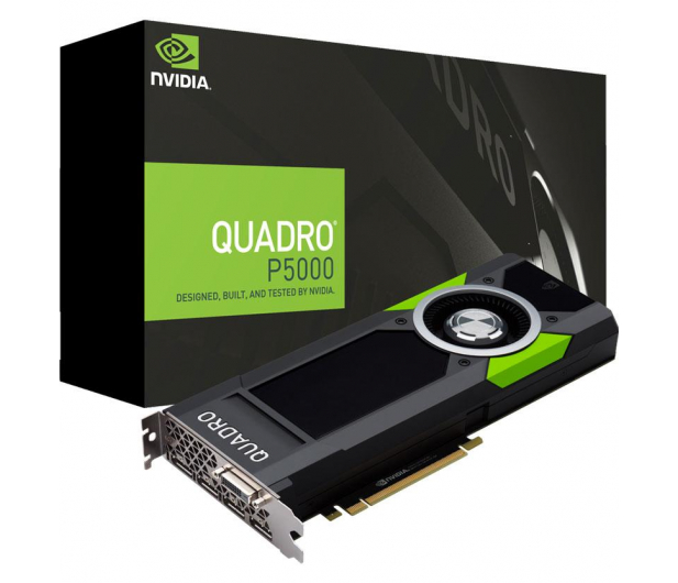 PNY Quadro P5000 16GB GDDR5 - 420982 - zdjęcie