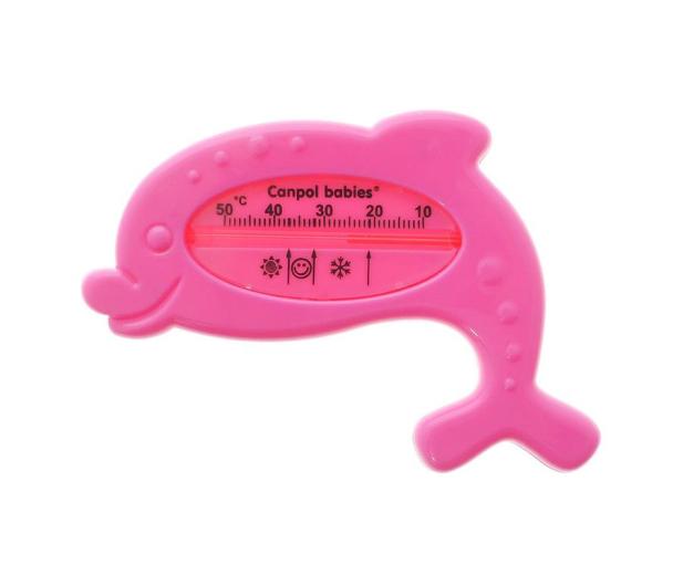Canpol Termometr Do Kąpieli Wanienki Delfin Różowy - 429110 - zdjęcie